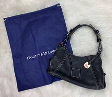 Dooney & Bourke Authentic Zip Top Mini Shoulder Bag Purse Leather Black