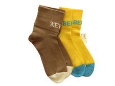 Personalized Socks MERINO WOOL adult men women hand knitted gift name custom eco