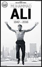 Muhammad ali the sunday times, souvenir hommage, 1942 - 2016, édition 05-06-2016