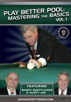 Play Better Pool: Mastering the Basics DVD featuring Randy Goettlicher