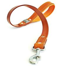 "BESTIA ""EROS"" genuine leather dog leash 100% leather. Premium quality. hand made"