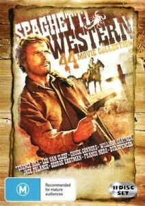Spaghetti Westerns - 44 Movie Collection DVD set