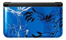 Nintendo 3DS Ll XL Pokemon X Pack Limitado Yveltal Azul Xerneas Japón Consola