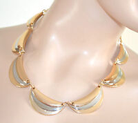 COLLANA ORO girocollo donna argento elegante cerimonia collier ожерелье 640