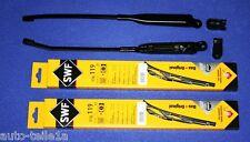 PORSCHE 911 912 930 964 965 2 RHD WIPER ARMS + CAPS SWF BLADES
