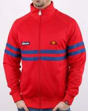 Ellesse Track Top in Red & Blue - Rimini tracksuit jacket, SALE XS extra small