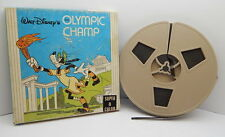 WALT DISNEY'S THE OLYMPIC CHAMP (goofy), SUPER 8 COLOR HOME FILM R14266