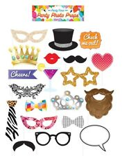 Photo Booth Accessory Kit Fancy Dress Party Accessory Novelty Foto Props New