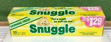 Vintage Snuggle Dryer Sheets Morning Fresh 20 Ct. Sealed Box 9x11�