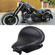 Motorcycle Driver Solo Seat + Spring Bracket Base Plate Kit For Harley Sportster
