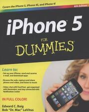 iPhone 5 For Dummies, LeVitus, Bob, Baig, Edward C., Good Condition, Book