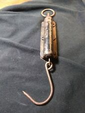 Vintage Antique  PS & W Co. Hanging Spring Scale Fish Small Game
