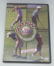 GOLF Fun and Fundamentals for KIDS DVD Eric Eggleston Learn Sport Instructional