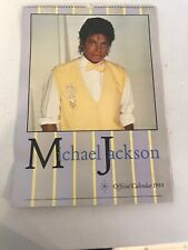 RARE Official MICHAEL JACKSON 1984 POSTER CALENDAR M J Productions 80s POP Icon