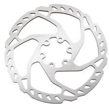 Discos de freno de plata para bicicletas