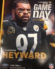 """Pittsburgh Steelers GAMEDAY Program 10.8.17 Vs Jacksonville Jaguars """"Cam Heyward"""
