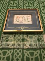 Stamps & Stories Love February 1 1982 Boston Framed Piece FREE SHIPPING