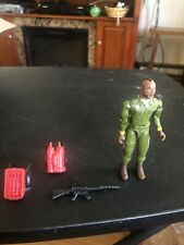 A-Team action figure Cannel vintage Mr T Baracus Gi Joe green With Accessories