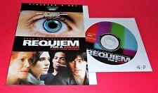 Requiem for a Dream (Very Good Dvd Disc & Cover Art Only, No Case) + Free Ship