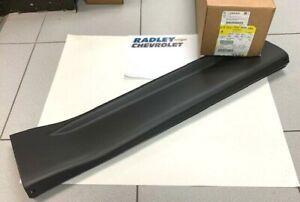 NEW OEM Genuine GM Black Rear Right Passenger side Lower Molding 25824836