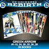 Green Arrow Lot 17 1-15 24 28 DC Rebirth Neal Adams Variants Comic Books CW JLA
