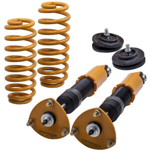 2x Rear Air Suspension to Coil Spring Conversion Kits for BMW X5 E53 2000- 2006