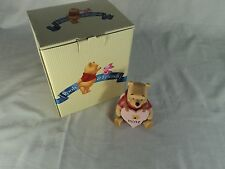 """Pooh & Friends MIB Pooh """"Bee Mine"""" Statue Collectible Retired"""