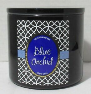 Bath & Body Works 3-wick 14.5 oz Large Jar Scented Candle BLUE ORCHID