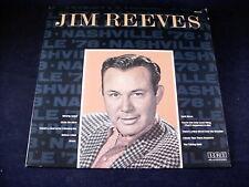 "JIM REEVES "" NASHVILLE '78 ""  LP RECORD ALBUM"