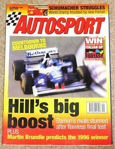 Autosport 29/2/96* F1 SEASON PREVIEW - GLOBAL GT PREVIEW - SWIFT RACING CARS