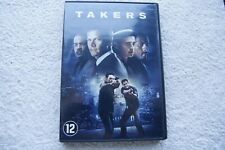 "DVD ""Takers""."