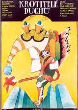 GHOSTBUSTERS Amazing Original Mega Rare 22x33 Czech Poster BILL MURRAY AYKROYD