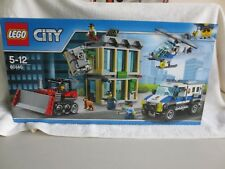 LEGO 60140 CITY POLICE BULLDOZER BREAK IN – NEW in sealed box