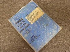 1988 Ford Econoline E150 E250 E350 Van Engine Shop Service Repair Manual Book