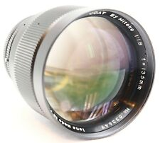 HUGE PLURA-COAT BY MITAKE 135/1.8 135MM F1.8 CANON FD LENS FREE SHIPPING