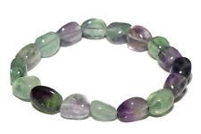 Bracelet fluorine multicolore (pierres roulées)