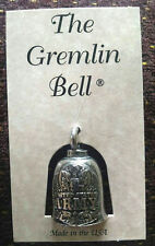 US Army Motorcycle Guardian Angel Good Luck Gremlin Bell  Made in USA