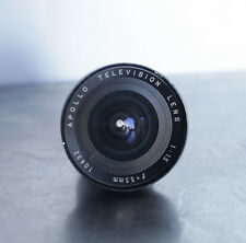 Apollo TV Lens 5.5mm Wide Angle f/1.5 Television - Made in Japan