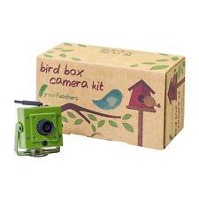 Plumas verde WIFI HD cámara de caja de Pájaro con visión nocturna & MicroSD de grabación