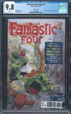 MONSTERS UNLEASHED #7 CGC 9.8 NM/MT WP FANTASTIC FOUR #1 HOMAGE