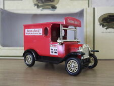 Lledo SP6101, Model T Ford Van, Eason & Son Ltd, Aeroplane Service Van, Belfast