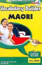 Vocabulary Builder - Maori by EuroTalk Ltd. (CD-ROM, 2009)