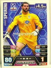 Match Attax 2013/14 Premier League - #073 Julian Speroni - Crystal Palace