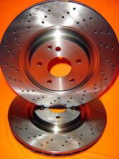 Mercedes S320 W221 12/2005 onwards FRONT Disc brake Rotors DR12595X PAIR