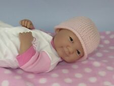 PRINTED INSTRUCTIONS-PREMATURE BABY VERY EASY 4PLY BEANIE HAT KNITTING PATTERN