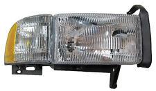 Ram Pickup Right Passenger Headlight Headlamp Lamp with Corner Light