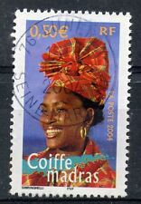 STAMP / TIMBRE FRANCE OBLITERE N° 3650 COIFFE MADRAS