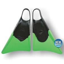 Bodyboard Fin Churchill Makapuu M Black/green Body Board Flippers