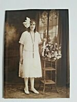 "1920s Graduation Photograph of Young Woman ~ 4.75"" x 6.75"""
