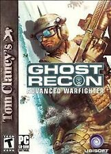 Tom Clancy's Ghost Recon: Advanced Warfighter (PC, 2006) Disc Only